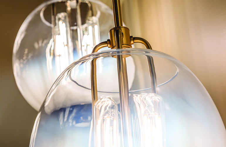 Imaginative glassworking by hudson valley lighting for Hudson valley interior design
