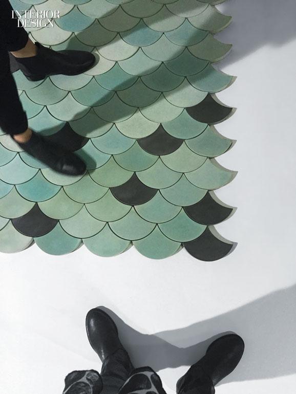 Morocco Decorative Traditions Inspires Concrete Scallop Tile Collaborative