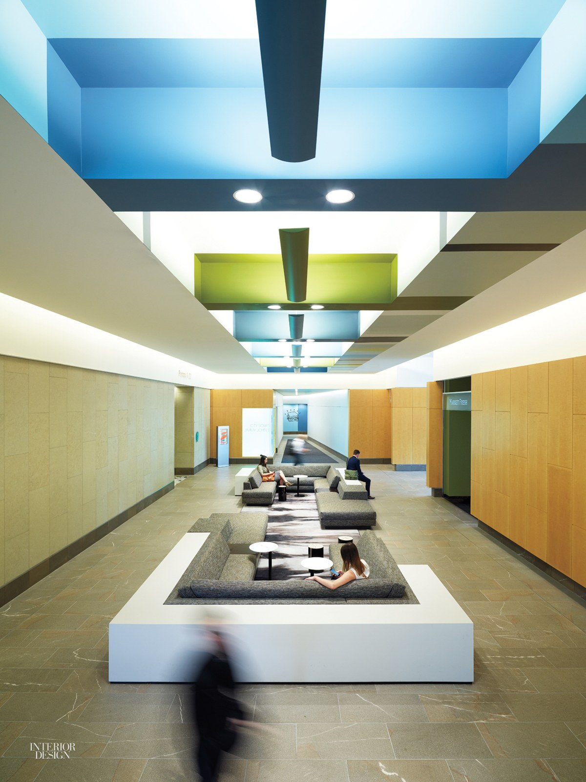 Skb Architects Creates Lively Lobby For Key Center Office