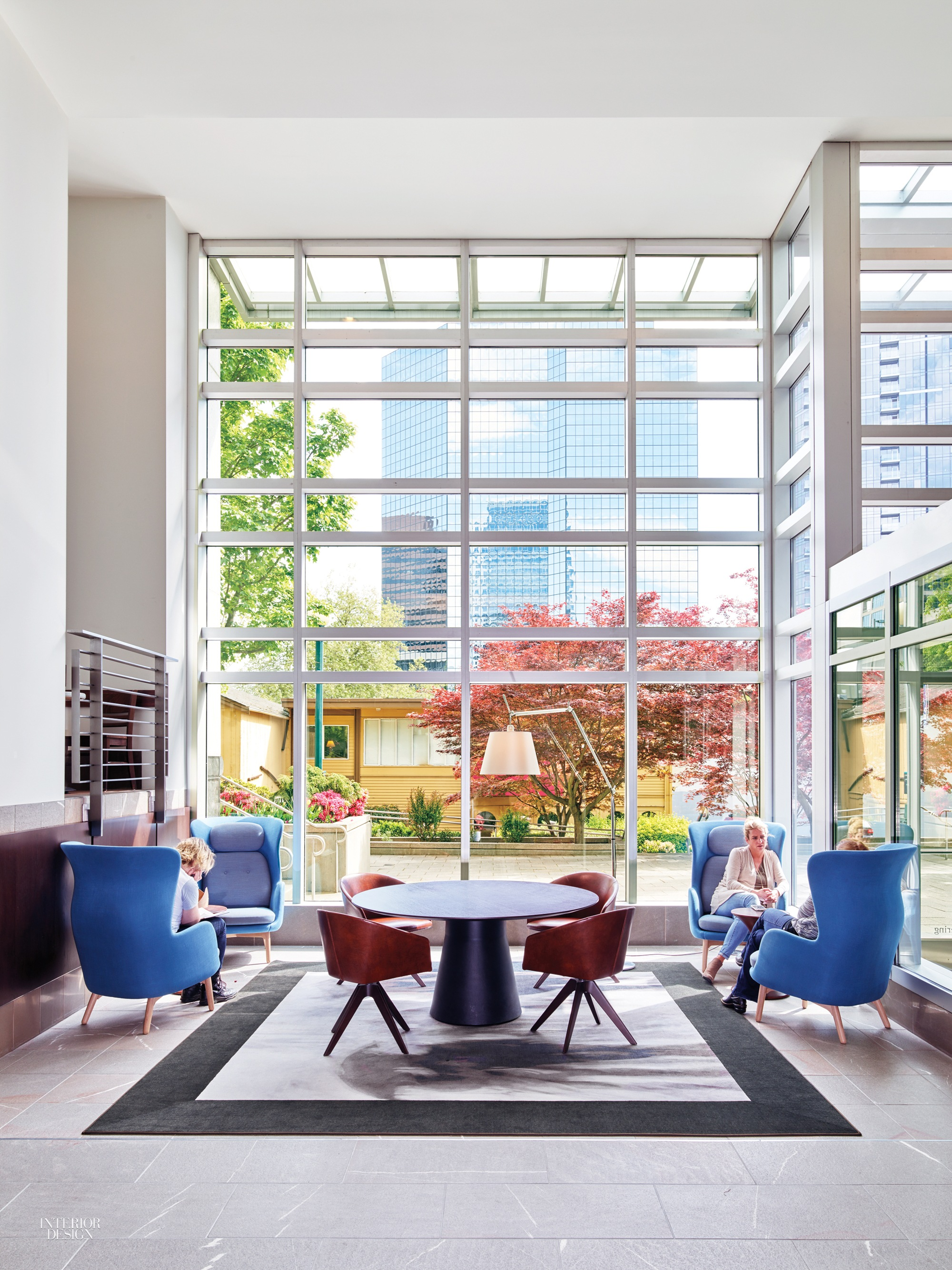 SKB Architects Creates Lively Lobby for Key Center fice Tower