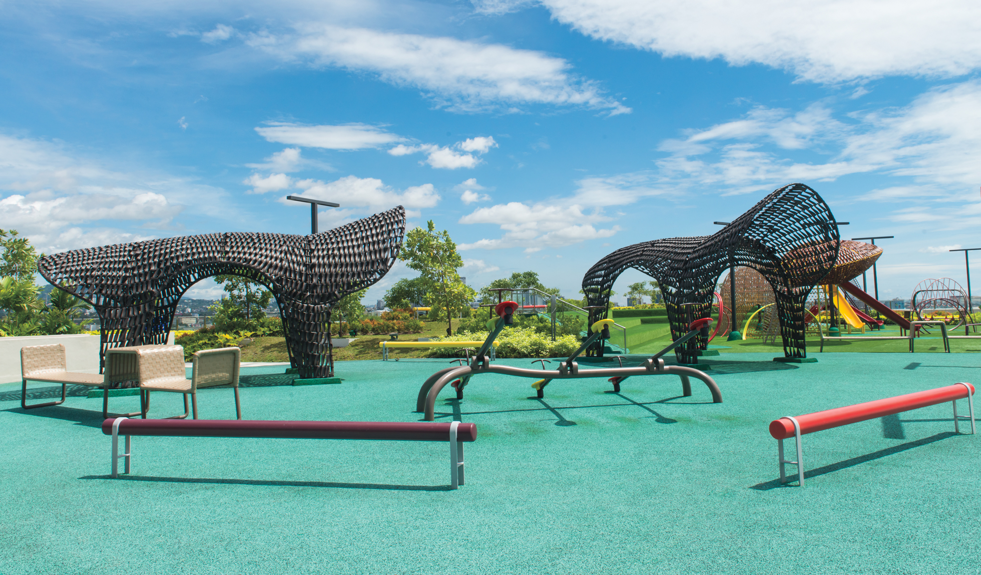 Fantastical Rooftop Playground By Kenneth Cobonpue