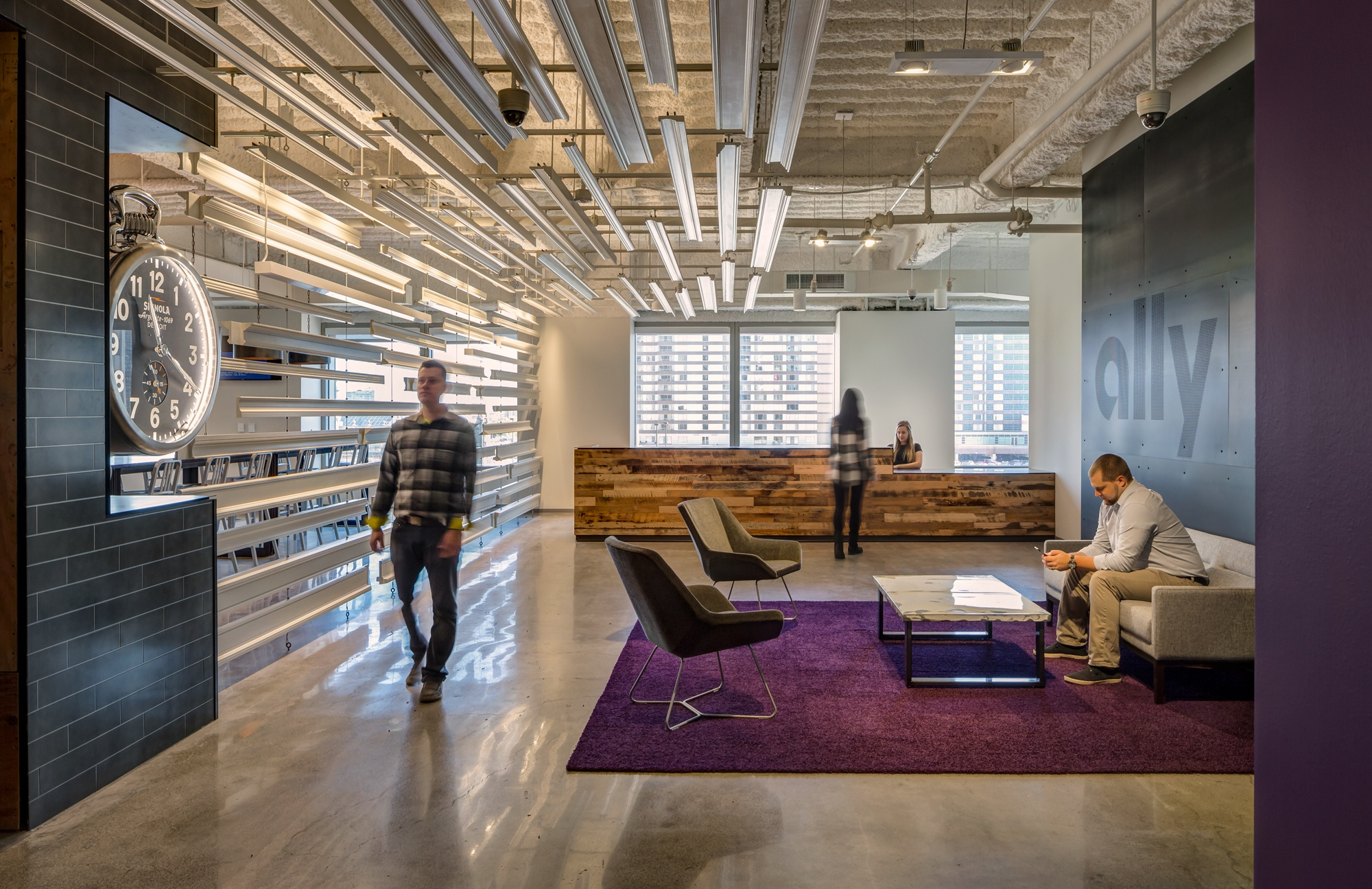 Ally Financial Headquarters By SmithGroup JJR Photography Justin Maconochie