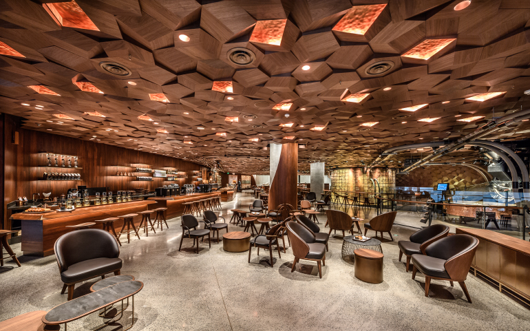 Starbucks Opens World S Largest Location In Shanghai
