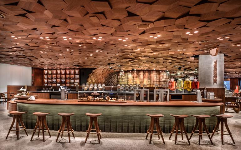 Starbucks Opens World S Largest Location In Shanghai Interior Design Magazine