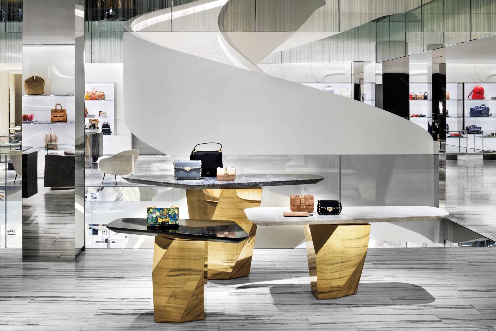 Barneys New York By Steven Harris Architects And Rees