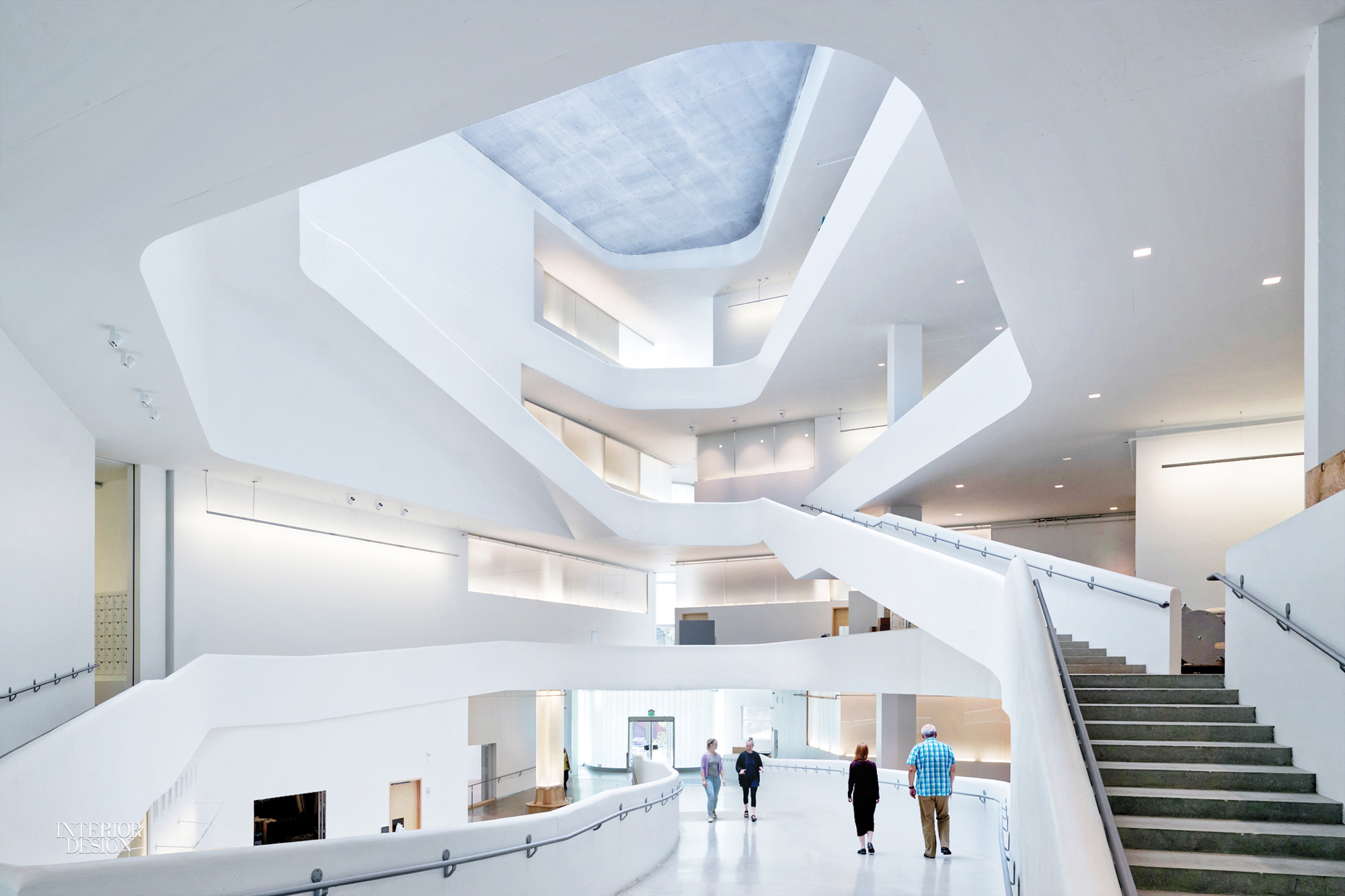 University Of Iowa Visual Arts Building By Steven Holl: 2016 Best Of Year  Winner For Education