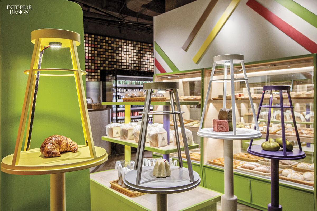 Bakery Interior Design A Feature Wall At This Hong Kong Bakery Displays 1500 Actual