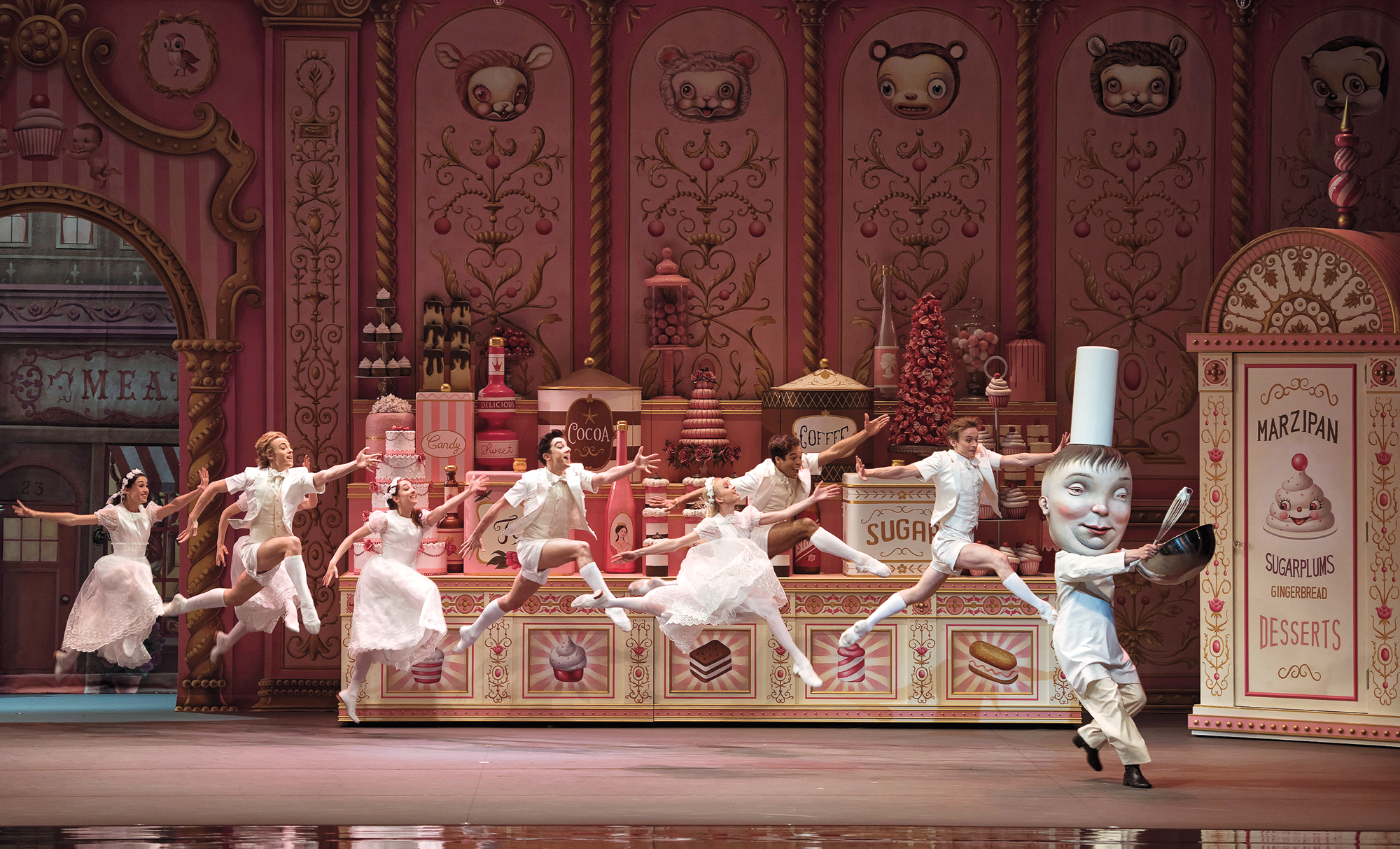 mark ryden designs sweet costumes and set for abt u0026 39 s