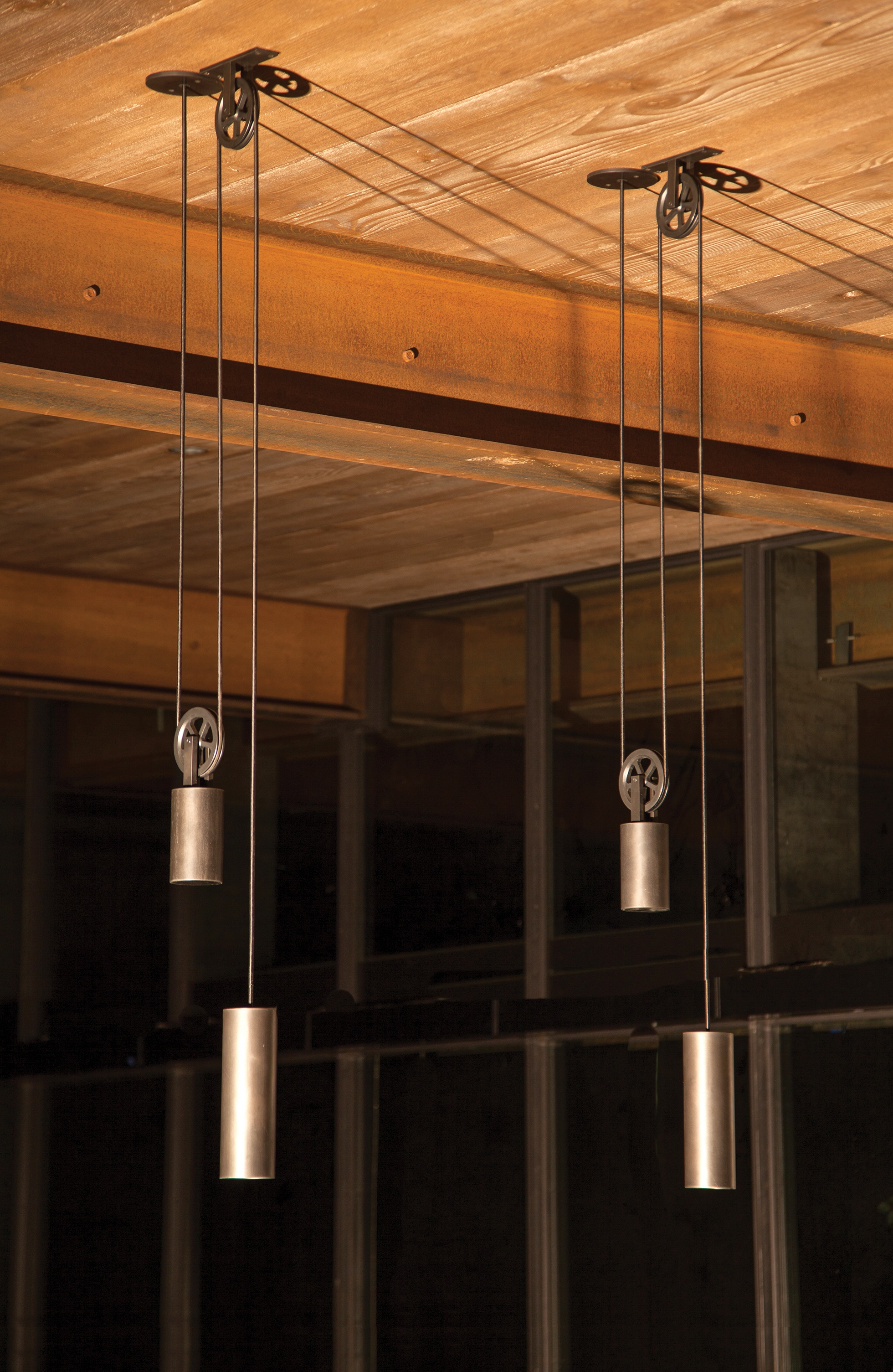 5 Hand Crafted Lighting Fixtures By Sun Valley Bronze