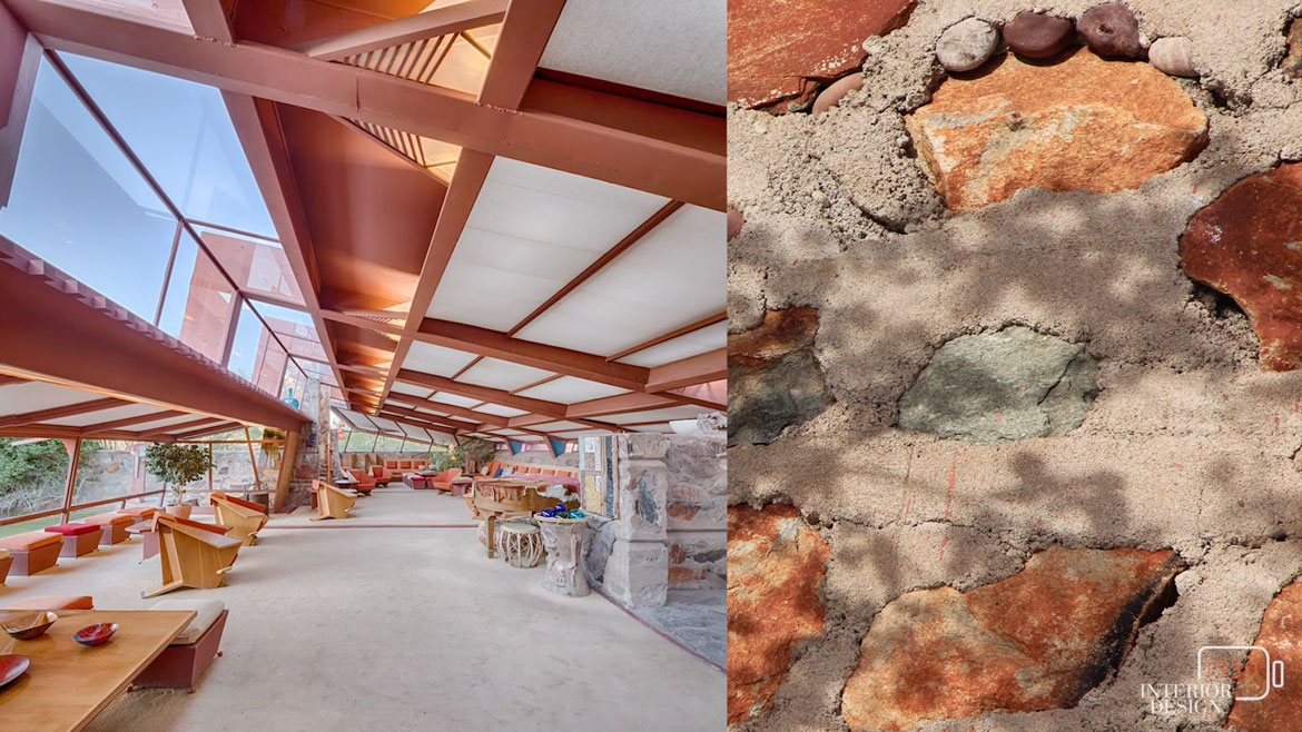 the history of taliesin west and frank lloyd wrights innovations in residential architecture -frank lloyd wright taliesin west - if you haven't yet visited the architect's personal residence, it's definitely a must-see in the valley  frank lloyd wrights .