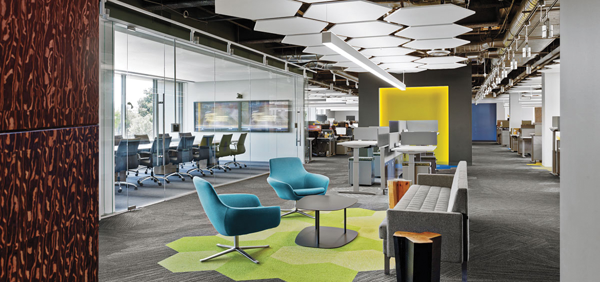 Exceptional Interior Design For Office. 4 Tech And Finance Companies Rock Out At The Office  Interior