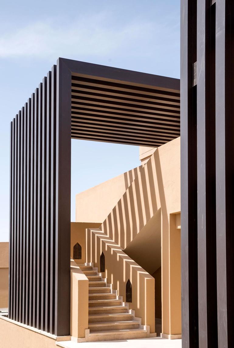 atelier pod designs luxury hotel in oman