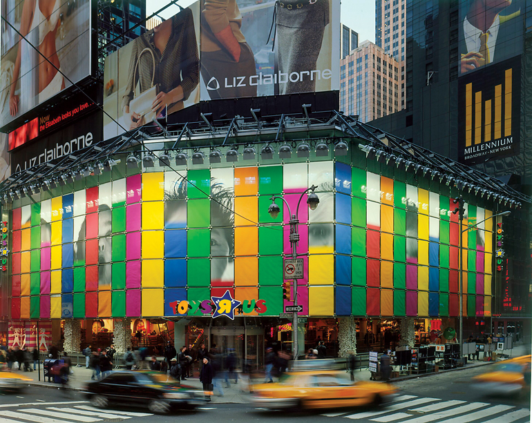 Toys R Us Times Square : Remembering gensler s toys r us flagship in times square