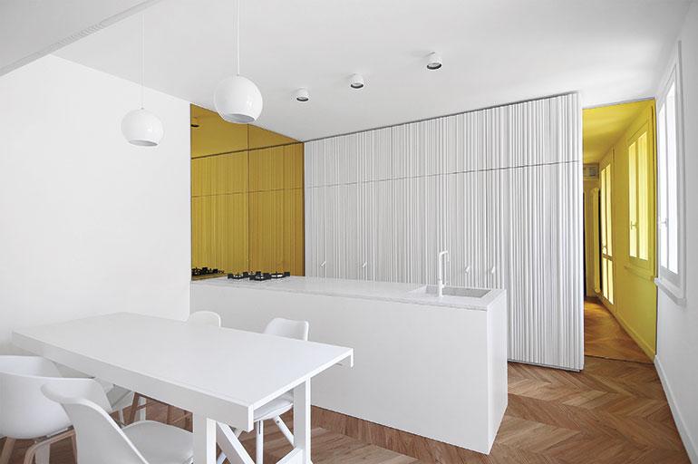 Tissellistudioarchitetti Brings Light Inside Italian Duplex Apartment