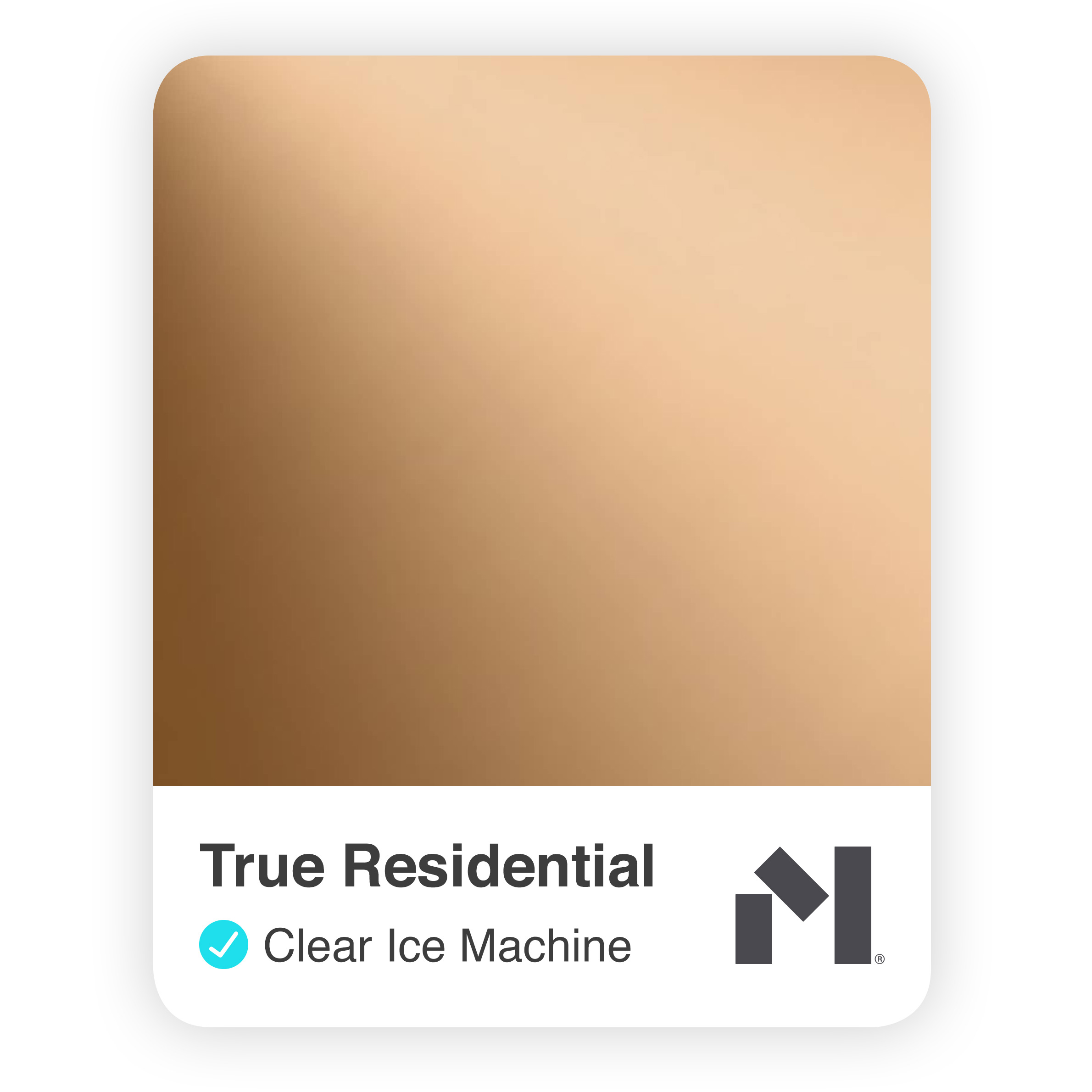 Clear Ice Machine