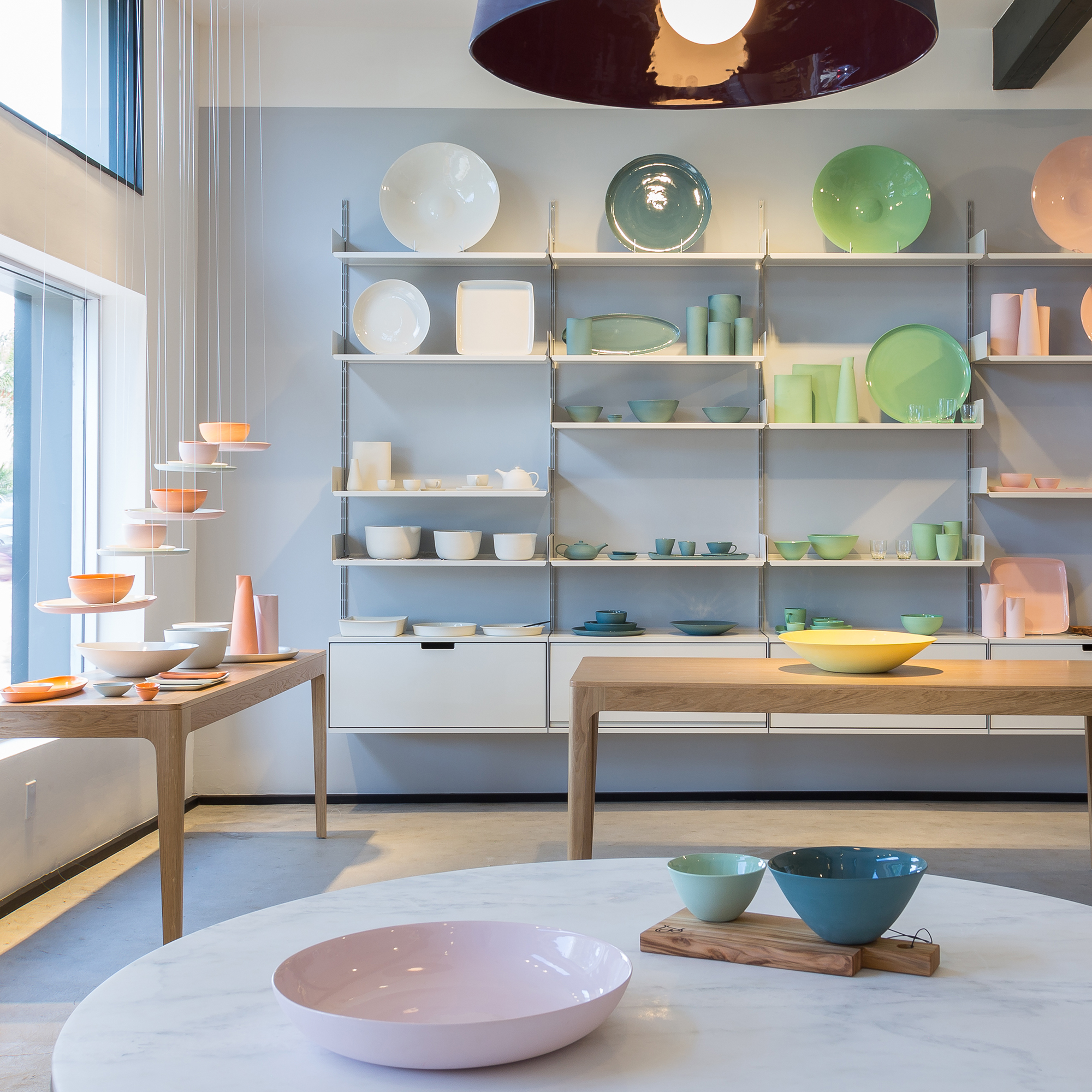Vits and mud australia set up shop in los angeles for Kitchen showrooms sydney west
