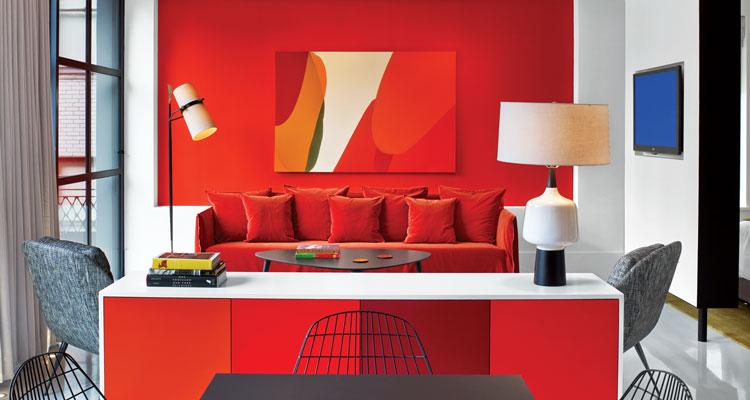 9 red and pink interiors rh interiordesign net
